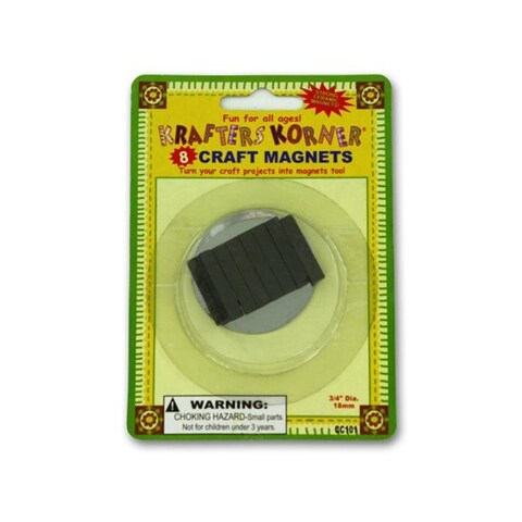 Assorted craft magnets - Pack of 24