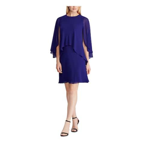 RALPH LAUREN Navy Sleeveless Short Dress 2
