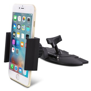 Skiva Universal Smartphone CD Slot Car Mount Holder for iPhone X 8 8+ 7 7+ 6s 6s+ SE, Samsung Galaxy S7 S6 Edge S5 Note 5 Note 4