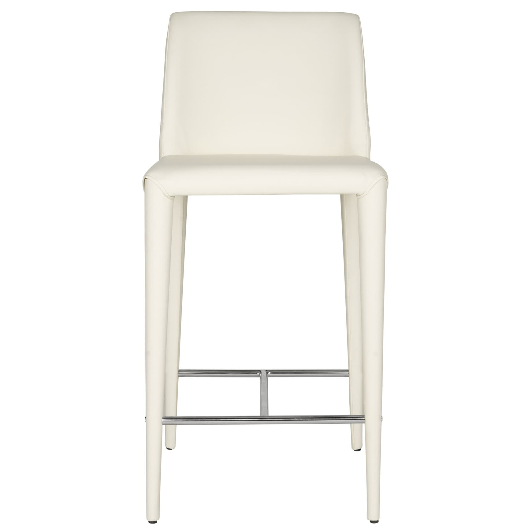 Safavieh Mid Century 26 Inch Garretson White Counter Stool Set Of 2 22 6 X 17 4 X 36 2 On Sale Overstock 10353726