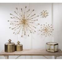 Tripar Medium Gold Starburst Wall Art