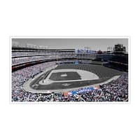 Texas - Globe Life Park - Touch of Color Baseball Ballparks - 36x20 Canvas ToC