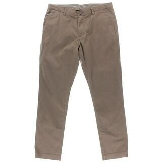 Michael Kors Mens Tailored Fit Twill Pants - 36