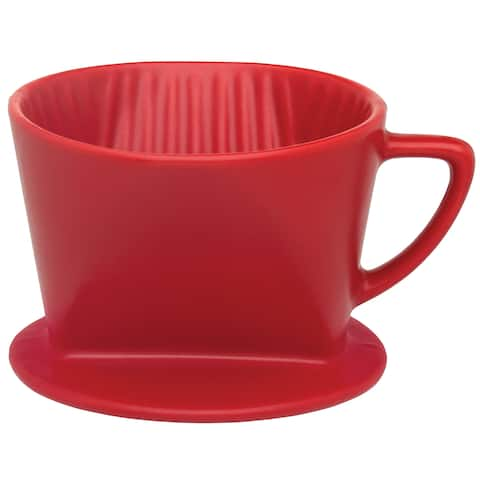 Harold Import NT1050RD Filter Cone, Matte Red