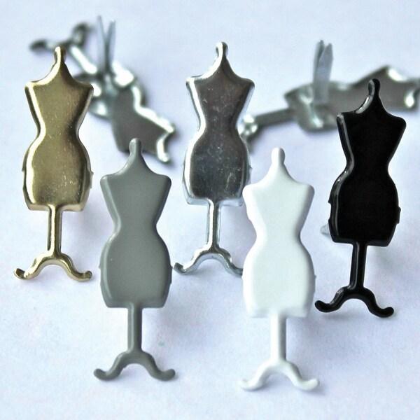 Shop Eyelet Outlet Shape Brads 12 Pkg Dress Forms Dress Forms