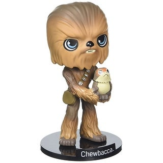 "Star Wars: The Last Jedi Funko Chewbacca & Porg 5.5"" Wacky Wobbler - multi"