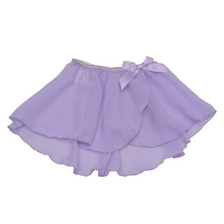 Danshuz Toddler Little Girls Lavender Mock Wrap Skirt Dancewear 2T-14