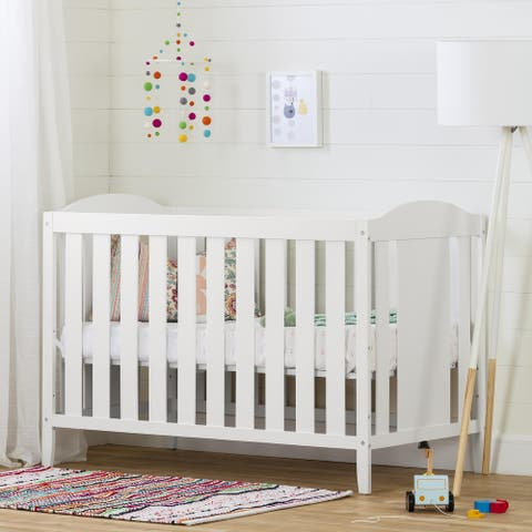 South Shore Reevo 3-in-1 Convertible Crib