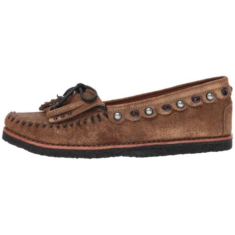 Coach Womens Roccasin Leather Closed Toe - 6.5