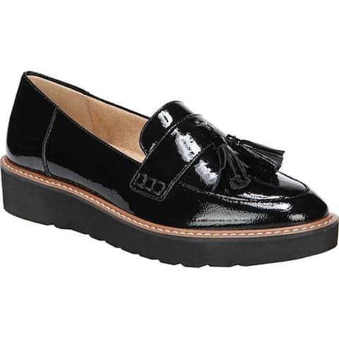 2cbd9df8d98d4 Naturalizer Women's August Platform Tassel Loafer Black Patent Leather