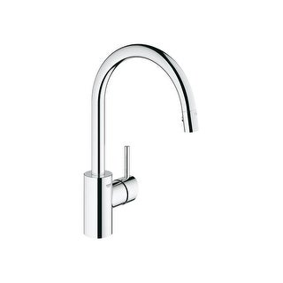Grohe 32 665 Concetto Pull Down High Arc Kitchen Faucet With Single  Function Locking
