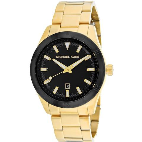 Michael Kors Men's Layton Black Dial Watch - MK8816 - One Size