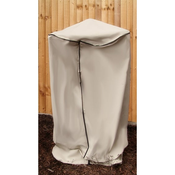 Sunnydaze Beige Outdoor Water Fountain Cover, Size Options Available