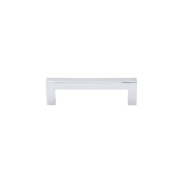 Top Knobs M1163 Nouveau III 3-3/4 Inch Center to Center Handle Cabinet Pull - Polished chrome