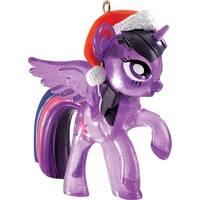 """3.25"""" Carlton Cards Heirloom My Little Pony Twilight Sparkle Christmas Ornament"""