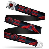 Gi Joe Cobra Logo Full Color Black Red Gi Joe Cobra Logo Close Up Black Red Seatbelt Belt