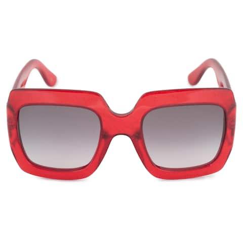 4aad9294684 Gucci Gucci Oversized Sunglasses GG0053S 003 54