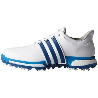 Adidas Men's Tour 360 Boost FTWR White/Eqt.Blue/Shock Blue Golf Shoes F33252 / F33264