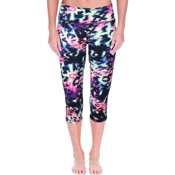 a3fc32b37a993 Shop Material Girl Womens Juniors Crop Leggings Printed Cropped - Free  Shipping On Orders Over $45 - Overstock - 19787076