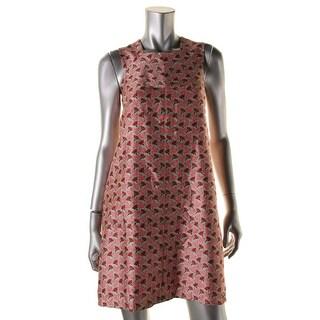 Tory Burch Womens Silk Pattern Wear to Work Dress - 6