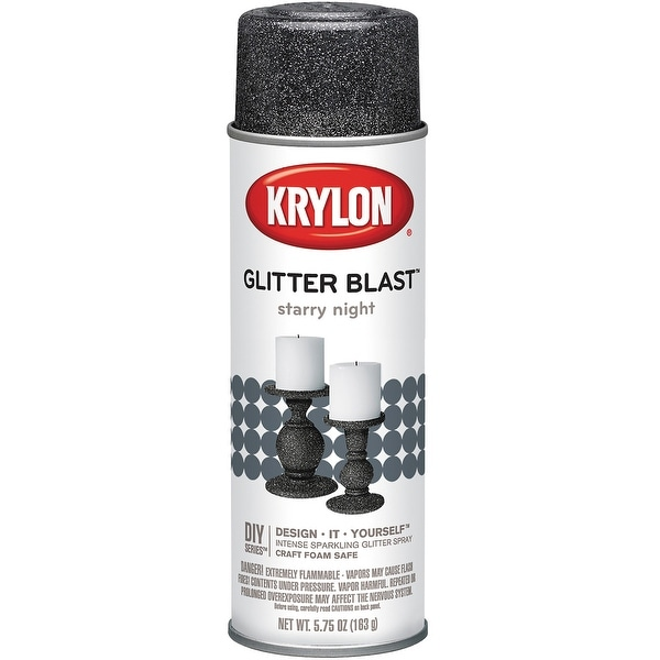Glitter Blast Aerosol Spray 5.75oz-Starry Night