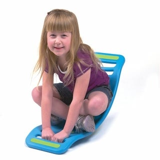 Children's Fat Brain Toys Teeter Popper - Blue Rocking Toy For Kids