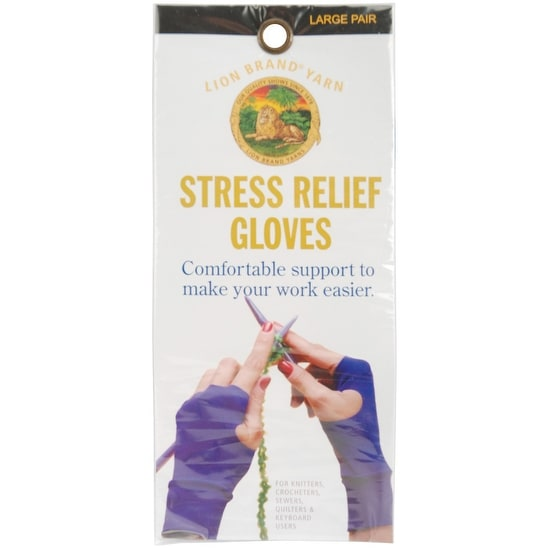 Stress Relief Gloves 1 Pair-Large