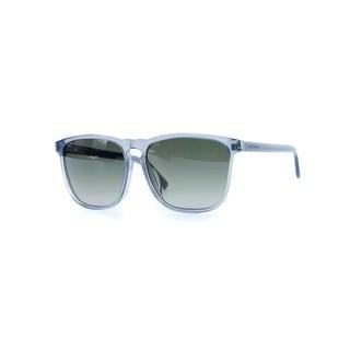 Saint Laurent Womens SL27F Silver Tinted Lense Squared Sunglasses
