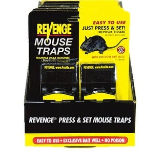 Bonide 47090 Revenge Press And Set Rat Trap, Reusable