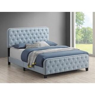 Link to Ellie Tufted Upholstered Bed Similar Items in Bedroom Furniture