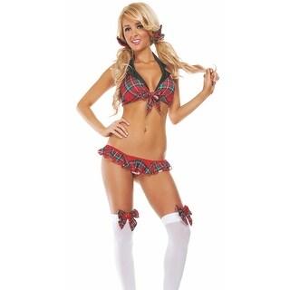 School Girl Crush Bedroom Costume, Hoty Schoolgirl Lingerie Costume