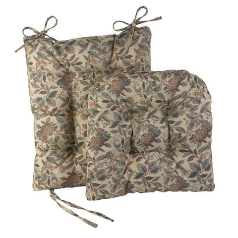 Gripper Jumbo Greenwich Tapestry Rocking Chair Cushion Set