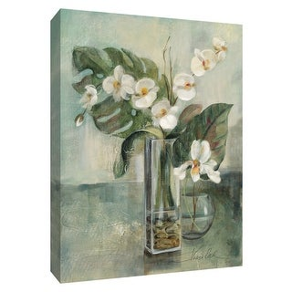 "PTM Images 9-154226  PTM Canvas Collection 10"" x 8"" - ""Silver Orchid II"" Giclee Orchids Art Print on Canvas"