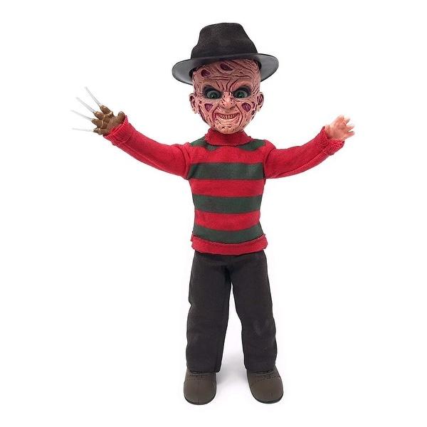88381502eb0 Shop A Nightmare On Elm Street  Talking Freddy Krueger Living Dead Doll -  multi - Free Shipping Today - Overstock - 22335916