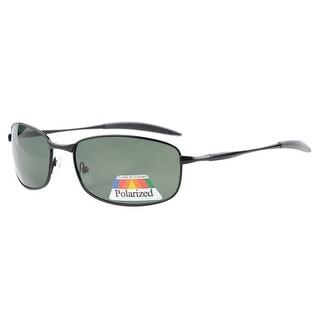 Eyekepper Metal Frame Fishing Golf Cycling Flying Outdoor Polarized Sunglasses Black