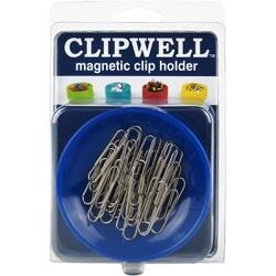 Blue - Clipwell Magnetic Clip Holder