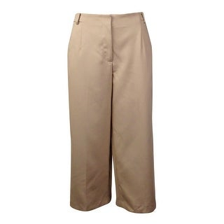 Vince Camuto Women's Twill Culottes Pants - Palomino (Option: 4)