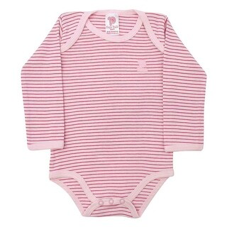 Baby Bodysuit Unisex Infants Striped Bodysuit Style Pulla Bulla Sizes 0-18 Months