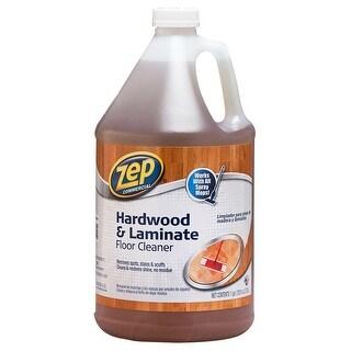Zep Commercial ZUHLF128 Hardwood & Laminate Floor Cleaner, 1-Gallon