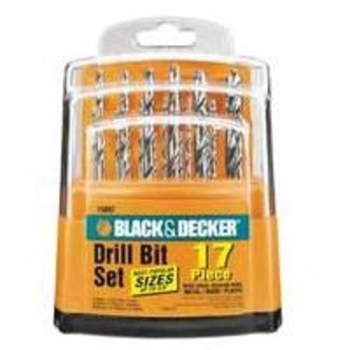 Black & Decker 15097 Drill Drive Set 1/16-3/8