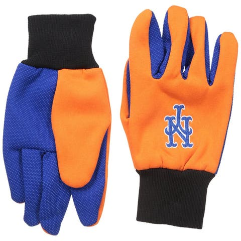 Garden Gloves Licensed MLB Utility Work Team Logo Baseball NY Mets