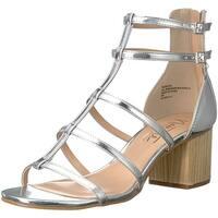 Nanette Lepore Womens Rebecca Open Toe Casual Strappy Sandals