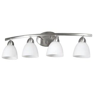 DVI Lighting DVP2044 Longbow 4 Light Bathroom Vanity Light
