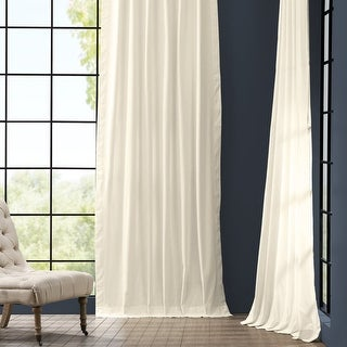 Link to Exclusive Fabrics Solid Cotton Curtain Panel Similar Items in Curtains & Drapes