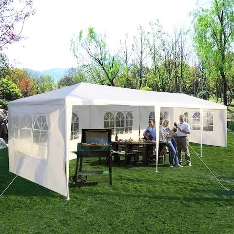 Costway 10'x30' Party Wedding Outdoor Patio Tent Canopy Heavy duty