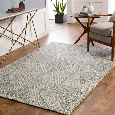 The Curated Nomad Skymont Handmade Wool Tribal Area Rug