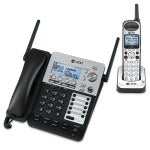 At&T Sb67138 Dect 6.0 1.9 Ghz 4-Line Corded / Cordless Phone System