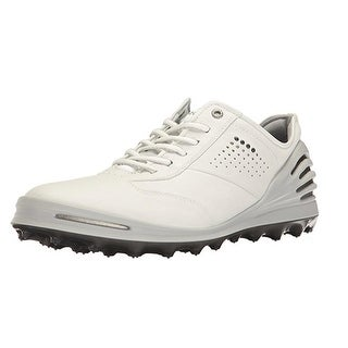 Ecco Mens Golf Cage Pro White 42 Euro 8-8.5 US Golf Shoes