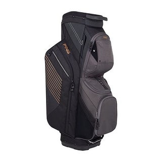 New Ping 2018 Traverse Golf Cart Bag (Black / Graphite / Copper) - black / graphite / copper