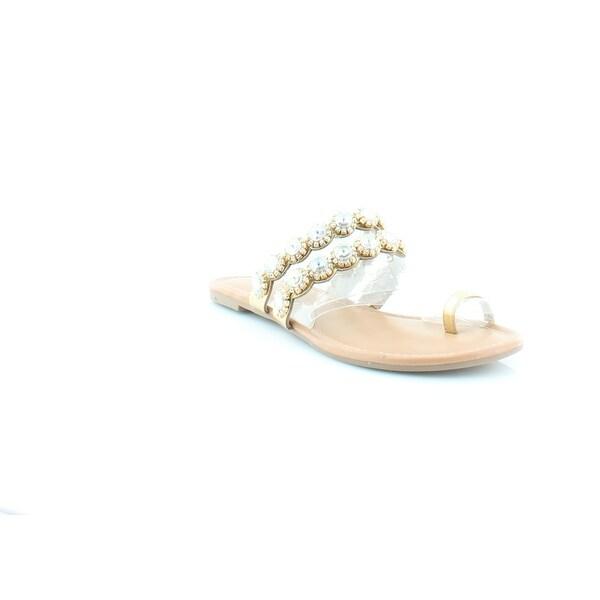 Thalia Sodi Joya Women's Sandals & Flip Flops Gold - 6